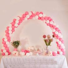 Balloon Arch Wedding Column Stand Stick Chain Backdrop Birthday Party Favor Table Decoration Globos