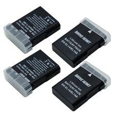 4x1800 мАч EN-EL14 EN EL14 EN-EL14a Battery + LCD Dual Charger for Nikon P7800,P7100,D3400,D5500,D5300,D5200,D3200,D3300,MH-24