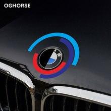 Капот автомобиля двигатели для крышка с логотипом Стикеры капот эмблема наклейка для BMW E60 E90 F20 F30 F10 G30 Z4 F15 F16 F25 G05 G01 G20 X1 аксессуары