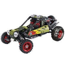 XINGBAO 03033 Technic Car Series 537pcs Assembly Car The Off-road Car Set Building Blocks Bricks Educational Toys For Children 2018 new 1085pcs lepin technic series 20077 the rally car set 42077 building blocks bricks educational funny children toys gifts