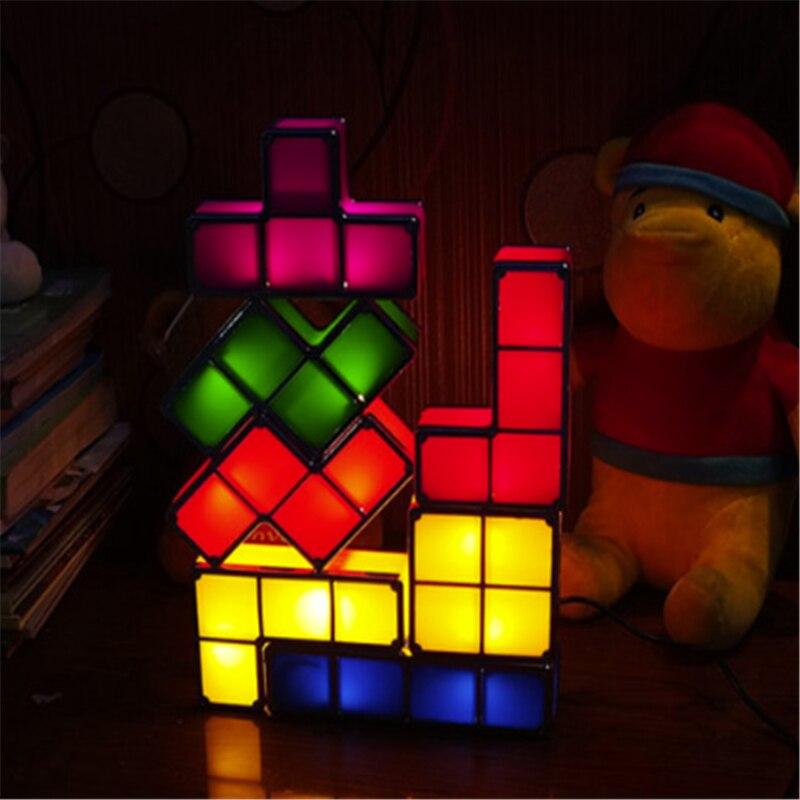 LED Tetris lights Children