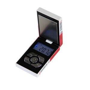 Image 2 - Nouveau Pop Mini poche électronique numérique Balance de bijoux pour boîte à cigarettes en or peser Balance 0.01 200g poids numérique mini Balance