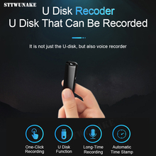 цена на STTWUNAKE voice recorder flash Drive Dictaphone mini recorders audio pen sound usb professional digital micro sound