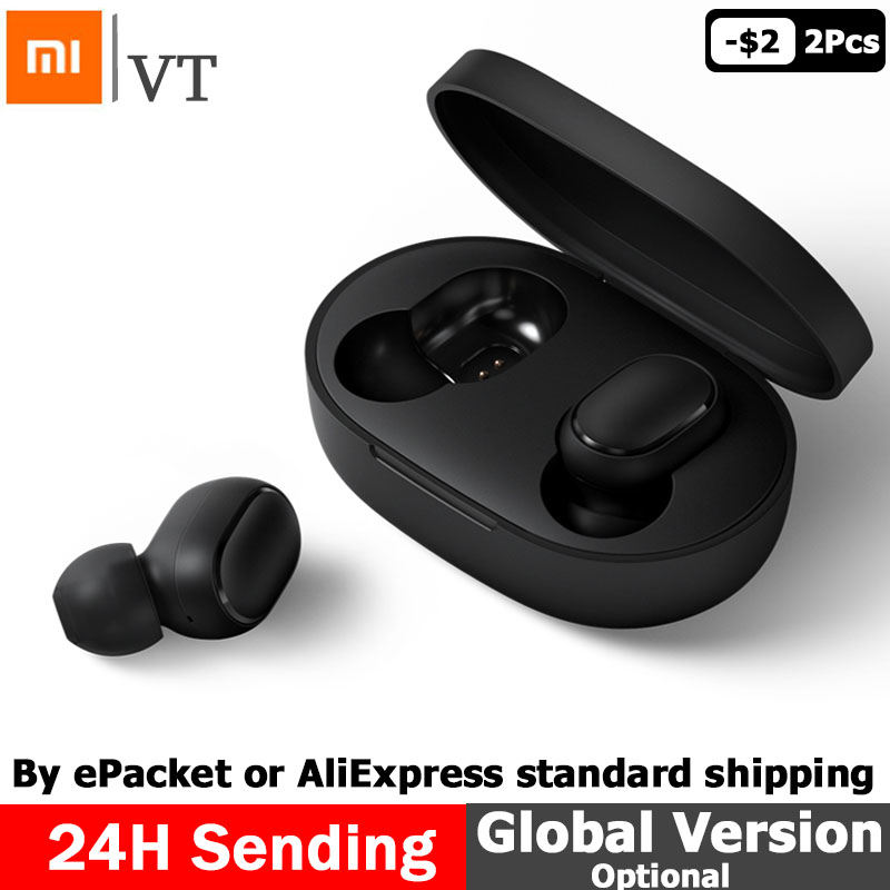 Xiaomi Redmi Airdots TWS Bluetooth Earphone Youth Version Stereo MI Mini Wireless Bluetooth 5.0 Headset With Mic Earbuds
