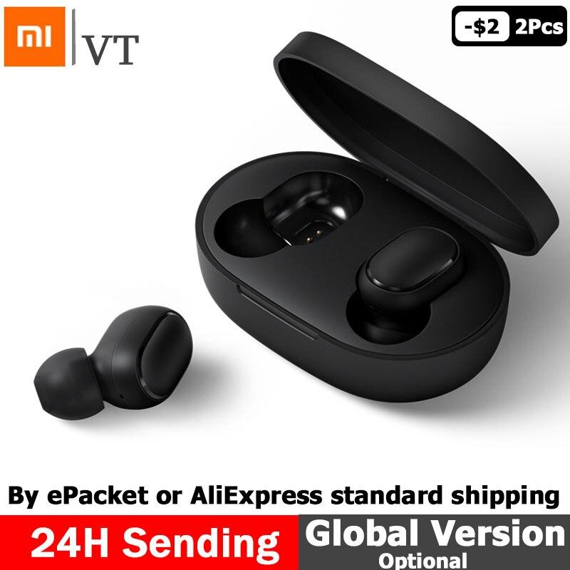 Xiaomi Redmi Airdots TWS Bluetooth Earphone Youth Version Stereo MI Mini Wireless Bluetooth 5.0 Headset With Mic Earbuds sony беспроводные наушники