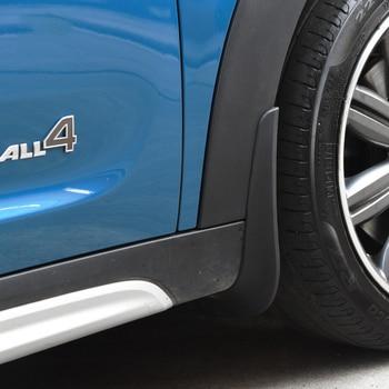 Car Wheel Mud Guard Accessories Splash Shield Decoration For BMW MINI Cooper S F60 Countryman Car Styling Modification
