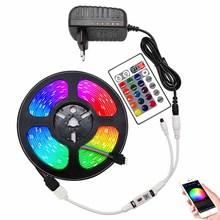Bluetooth RGB LED Strips 12V 10M 20M LED Lights for room 5m 10m 15m WiFi Smart Ribbon Luces RGB Tape LED Strip decoration