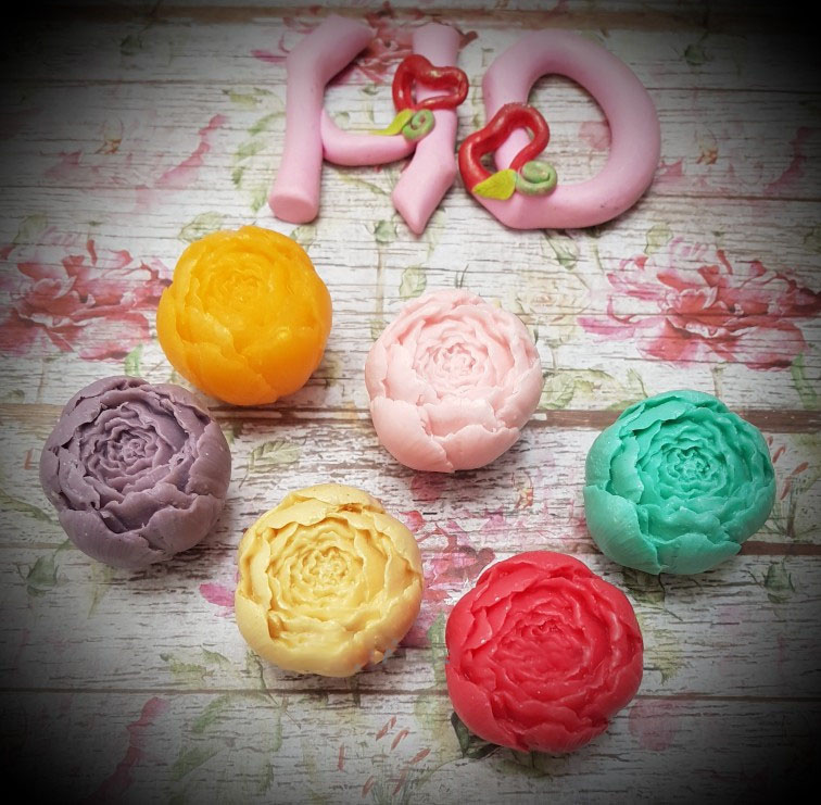 Rose Shape Silicone Fondant Soap 3D Cake Mold Handmade Rose Soap Mold Cupcake Jelly Candy Chocolate Decoration Baking Tool Molds