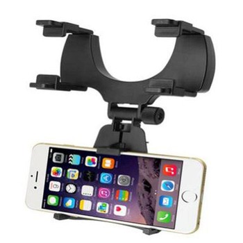 Car Rearview Mirror Mount Holder Stand Cradle for Cell Phone GPS Universal 360 Degree Camera DVR Recorder image