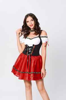 TaFiY 2020 Hot Factory direct sales German beer service Halloween cosplay maid maid service restaurant promotion service