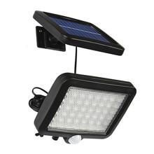 Binval Solar Lamp 56LEDs Garden Lawn waterproof Outdoor Decoration Lighting Sensor Motion Lights Floodlights Wall Solar Lamp