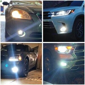 Image 5 - Projecteur de voiture Super brillant 12V 24V, ampoule H1 LED, lampe blanche pour journée de conduite