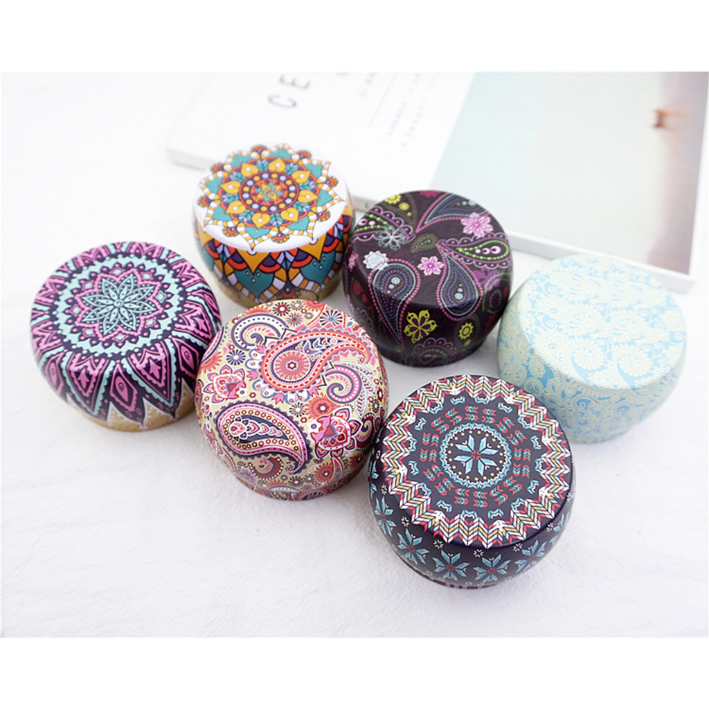 US $9.9 9% OFFPremium Christmas Cookie Tins Decorative Ethnic Style  Cookie Gift Tins, Extra Thick Steel Cookie Containers for Gift