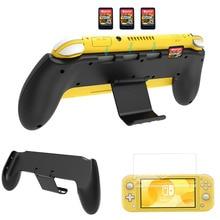 Защитный чехол Nintendo Switch Lite 2019 с асимметричной регулируемой подставкой и 4 слотами для игр
