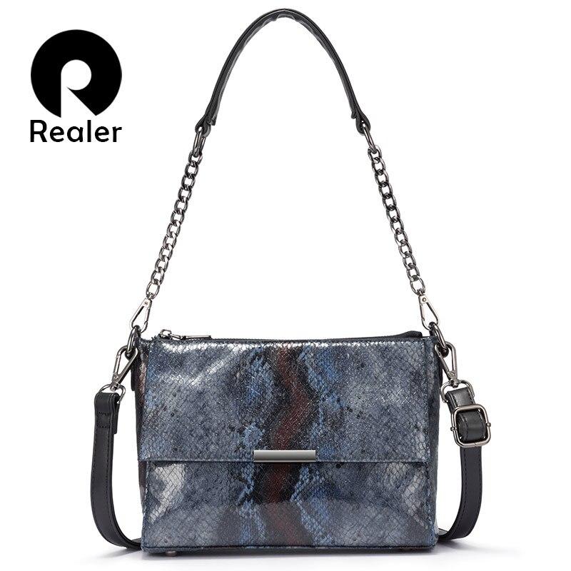 Realer Women Shoulder Bags For Women 2020 Luxury Handbags Women Bags Designer Crossbody Messenger Bag Ladies Tote With Tassel