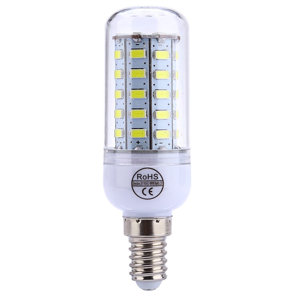 AC 220V E14 4.5W 400 - 450LM SMD 5730 LED Corn Bulb Light With 48 LEDs