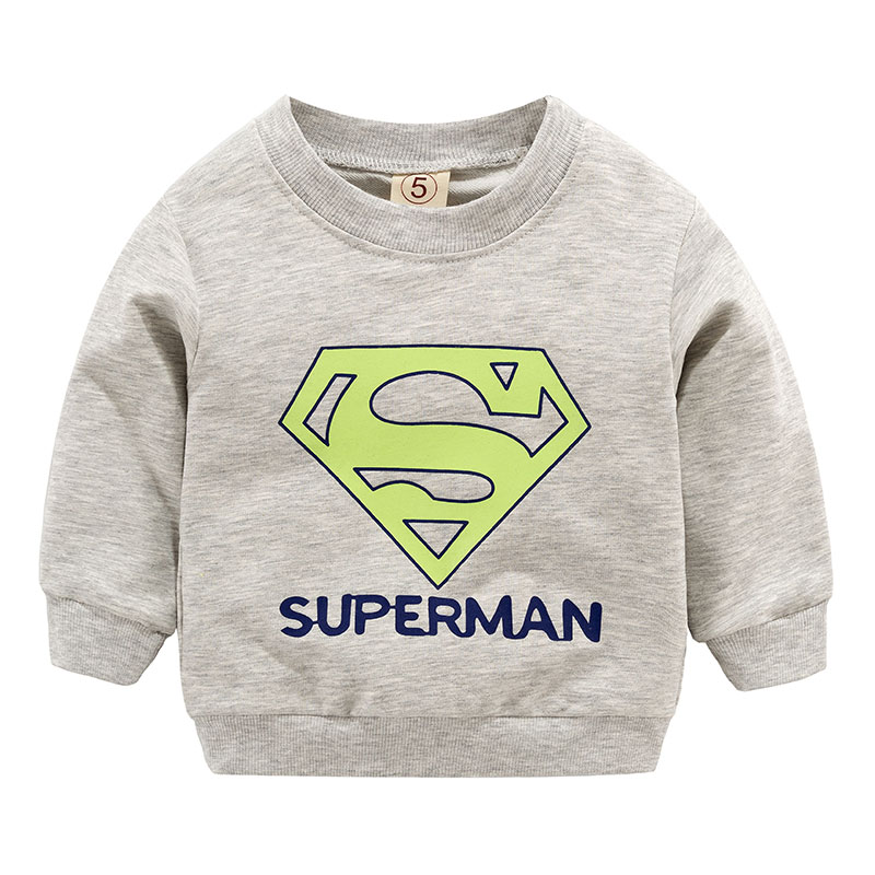 2019 New Arrival Baby Boys Girls Toddler Sweatshirts Spring Autumn Children Hoodies Long Sleeves Sweater Kids T-shirt Clothes