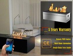 Hot Koop 48 Inch Indoor Insert Elektronische Bio Ethanol Haard Vlam Smart