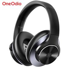 Oneodio A10 ANC Bluetooth 5.0 casque sans fil casque sur loreille Active suppression du bruit casque avec Microphone Charge rapide