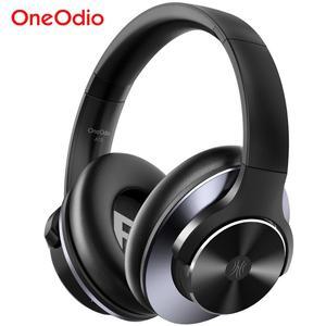 Image 1 - Oneodio A10 ANC Bluetooth 5.0 kulaklık kablosuz kulaklık üzerinde kulak aktif gürültü önleyici mikrofonlu kulaklıklar hızlı şarj