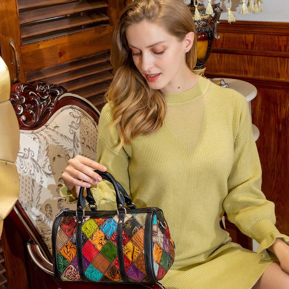 MVA Лоскутная сумка женские сумки из натуральной кожи женские сумки через плечо/сумка через плечо женские маленькие сумки для женщин кожаные сумки 100