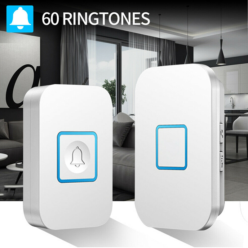 External  Wireless Waterproof Doorbell Electronic Doorbell Welcome Bell Home Chime Door Bel Smart Doorbell Waterproof Button