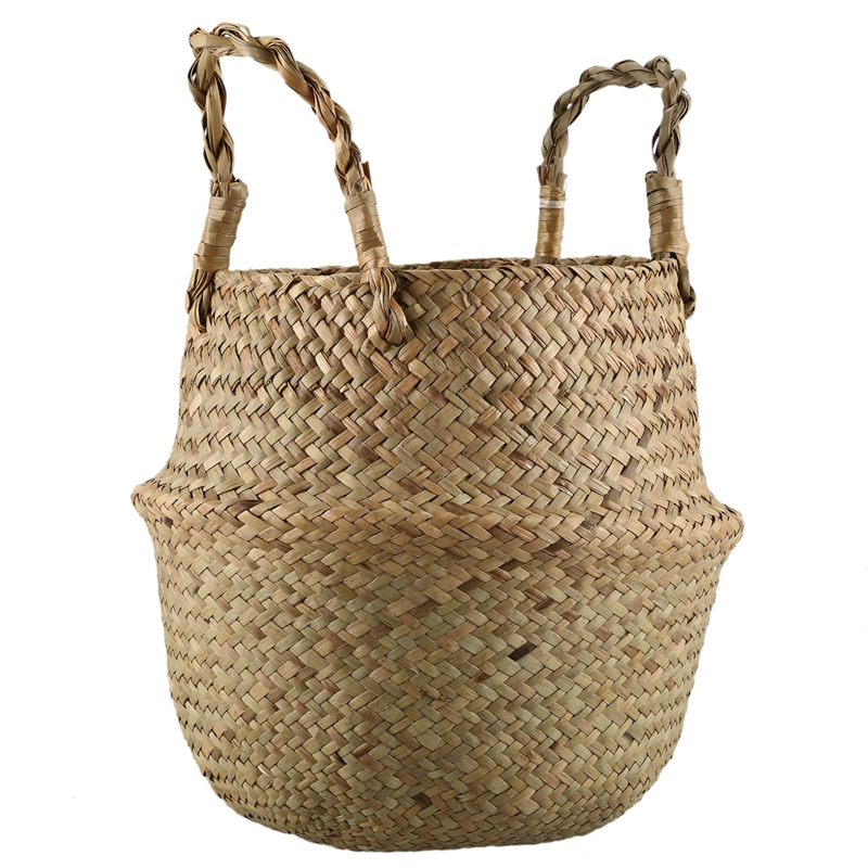 decorative baskets dried flowers small baskets country basket.htm hot xd seagrass wickerwork basket rattan foldable hanging flower  seagrass wickerwork basket rattan