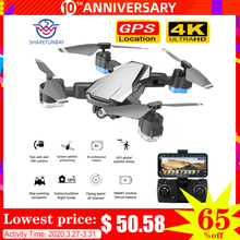 SHAREFUNBAY Drone GPS 5G WIFI and 4K HD wide-angle camera FPV Drone X Pro Quadcopter keeps up with my drone with camera цена 2017