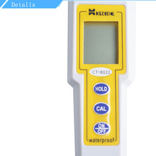 CT-8022 Pen Type Digital ORP Meter Waterproof Handheld Redox Potential Tester With Temperature Display Water Control Testers yieryi orp 16911 orp redox tester 1999 1999mv backlight lcd digital water quality test pen multi parameter orp analyzer test