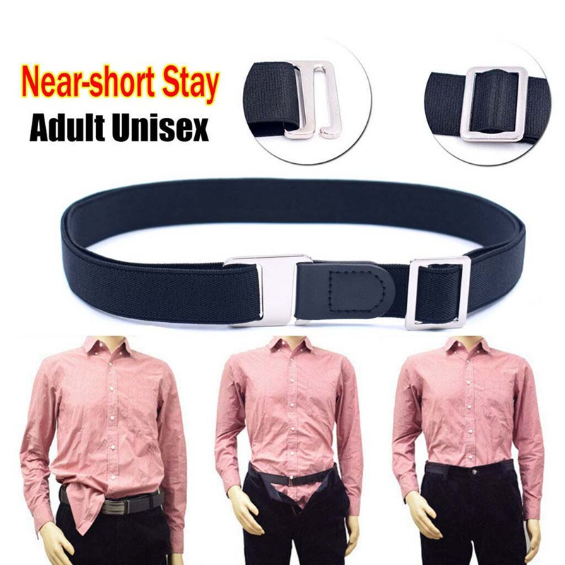 ShirtStay Belt Unisex Anti-slip Crease-resist Adjustable Strap For Adult