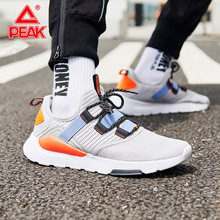 цены PEAK Walking Shoes For Men Breathable Flexible Leisure Sneakers Fashion Casual Street Shoes Light Comfort Sports Shoes
