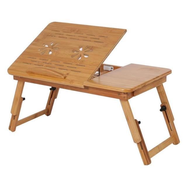 Business Office Furniture Laptop Desk Portable Bamboo Computer Desk