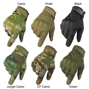 Image 2 - Men Riding Gloves Cycling Bike Full Finger Motos Racing Gloves Antiskid Screen Touch Outdoor Sports Tactical Gloves Protect Gear