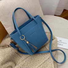 Casual Pu Leather Tote Bags Women Bag Fashion