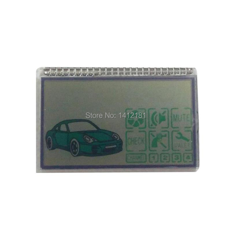 DXL 3000 Lcd Display For Russian Keychain Pandora DXL3000 Lcd Remote Controller Key Fob Chain /Two Way Car Alarm System