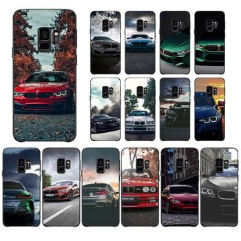Blue Red Car For Bmw Phone Case For Samsung S10 5G/lite/plus S20/Plus/Ultra Note8/9/10/20Pro/plus Case image