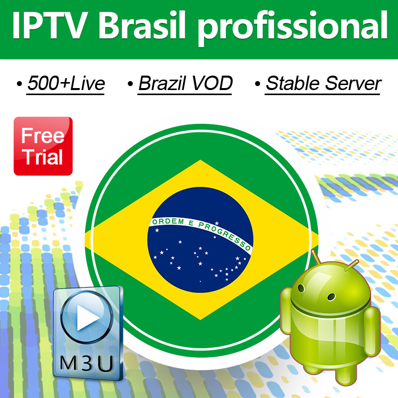 IPTV Brazil Subscription Code For Android WSTV 500+Live IPTV Channels Brazil Portuguese IPTV Subscription Brasil Free Test IP TV