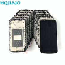10 יחידות\חבילה LCD עבור LG K10 LTE K420N K430 K430DS K410/ K10TV K430TV K10 טלוויזיה LCD תצוגת מסך מגע digitizer עם מסגרת