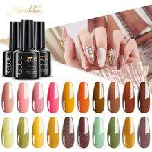 Гель-лак для ногтей MORDDA, 10 мл, блеск для маникюра, набор для ногтевого дизайна, полуматовая УФ-светодиодсветодиодный лампа, лаки для ногтей, б...