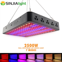 2500W LED Grow Light Full Spectrum Fitolamp Plant Growth Lamp for Flowers Indoor Grow Tent Timing/Color Switches High Power
