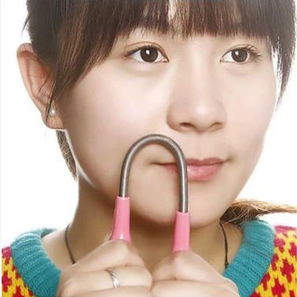 Remover Epilator Facial Spring 1pcs Manual Face Facial Hair Threading Shaver Super Stick Women Beauty Care Tools Face Skin Care