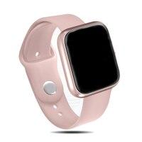 Relógio smartwatch feminino p70 p68  smartwatch a prova d' água ip68  bluetooth 4.0  para apple iphone  xiaomi  lg  monitor cardíaco  monitoramento de atividades esportivas