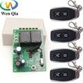 Универсальный беспроводной пульт дистанционного управления, 433 МГц, 6 В постоянного тока, 12 В, 24 В, 2 канала, Реле частоты и передатчик, дистанц...