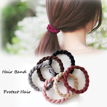 3pcs/set Hair Accessories Women Girls Rubber Bands Scrunchy Elastic Decorations Ponytail Holder Headband