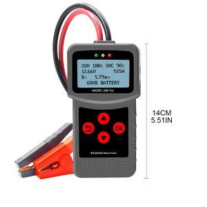 Image 2 - MICRO 200PRO probador de batería Digital para coche, pieza de descarga, 3XUB