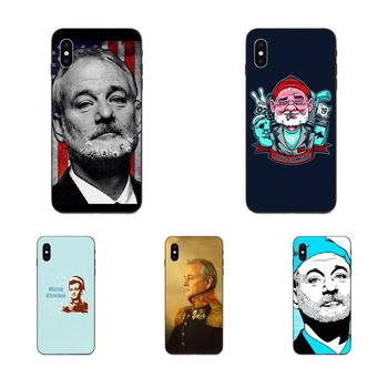 For Galaxy A3 A5 A6 A6s A7 A8 A9 A10 A20E A30 A40 A50 A60 A70 A80 A90 Plus 2018 Soft TPU Covers Capa Famous Actor Bill Murray image