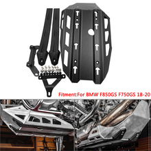 Sump-Protector Skid-Plate Bash-Guard-Oil F750GS Engine-Guard-Extension Motorcycle