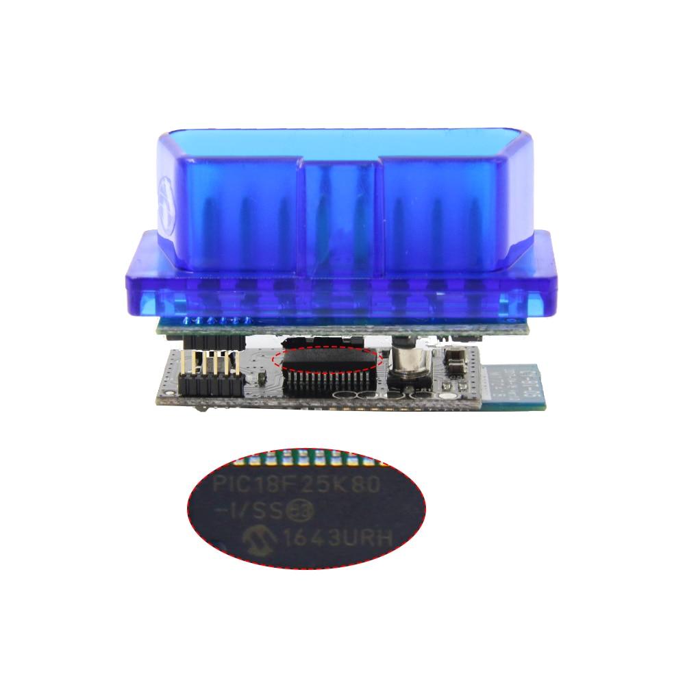 H0e2f92ac51144a8290badcdb888adb86s MINI ELM327 V1.5 PIC18F25K80 Bluetooth OBD2 Scanner Diagnostic adapter ELM 327 v1.5 OBD OBDII Code reader scan-tool For ATAL