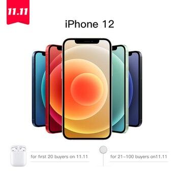 "Authentic Original New Apple iPhone 12/12 Mini 5G 5.4/6.1"" Super Retina XDR Display A14 Bionic IOS 14 Smartphone Super Slim Thin"