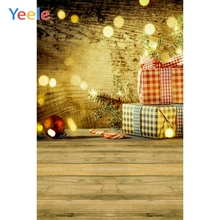 Yeele Christmas Photocall Retro Wood Gifts Candy Photography Backdrops Personalized Photographic Backgrounds For Photo Studio yeele christmas photocall candy old wood gift decor photography backdrops personalized photographic backgrounds for photo studio